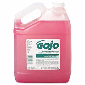 Bulk Pour All-Purpose Pink Lotion Soap, Floral, 1gal Bottle, 4/Carton