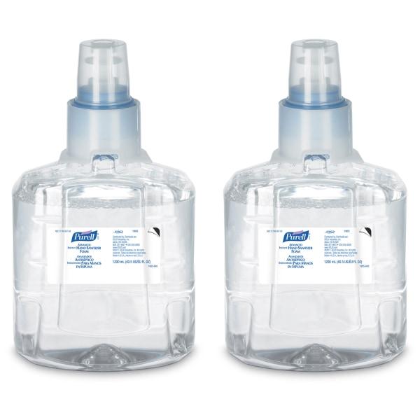 Advanced Instant Hand Sanitizer Foam, LTX-12 1200mL Refill, Clear