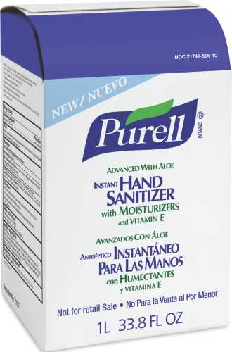 Advanced NXT Instant Hand Sanitizer NXT Refill w/Aloe, 1000mL Refill