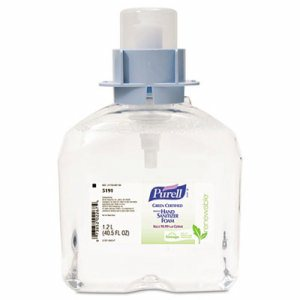 Advanced Green Certified Instant Hand Sanitizer Foam, 1200mL FMX Refilln