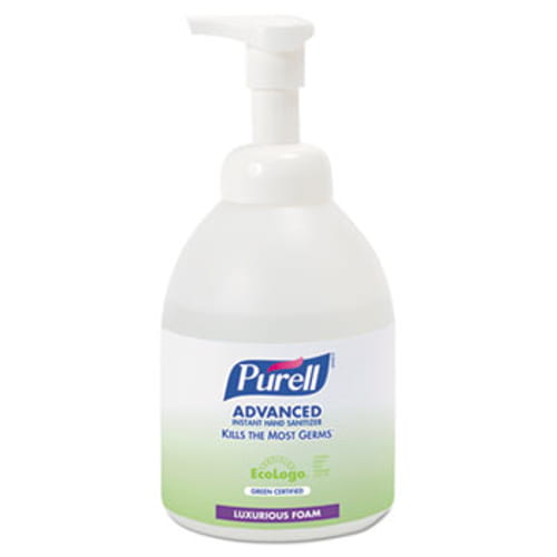 Advanced Green Certified Instant Hand Sanitizer Foam, 535 ml Bottle