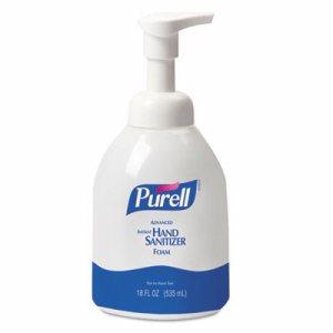 Advanced Non-Aerosol Foaming Hand Sanitizer, w/Moisturizers, 18oz Pump Bottle