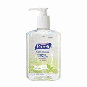 Advanced Green Certified Instant Hand Sanitizer Gel, 8 oz Pump Bottle, 12/Carton