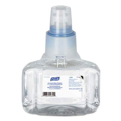 Advanced Green Certified Instant Hand Sanitizer Refill, 700mL, Unscented