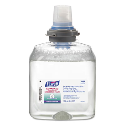 Advanced Hand Sanitizer Ultra Nourishing Foam, 1200 mL Refill
