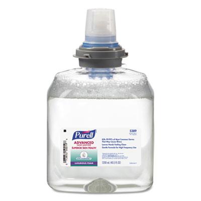 Advanced Hand Sanitizer Ultra Nourishing Foam, 1200 mL Refil