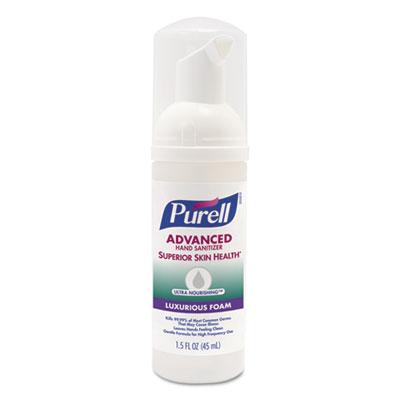Advanced Hand Sanitizer Ultra Nourishing Foam, 1.5 oz, Fragrance Free