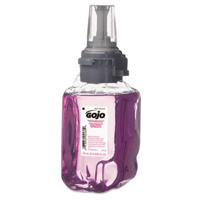 Antibacterial Foam Hand Wash, Plum Scent, 700mL Refill, 4/Carton
