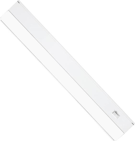 24-Inch Under Cabinet Fixture with Direct Wire, White