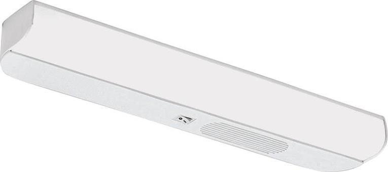 Good Earth G9718P-T8-WHI Corded Fluorescent Undercabinet Light, 15 W, 120 V