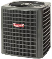 GOODMAN� 13 SEER R-410A HEAT PUMP, 3.5 TON, 40,500 / 41,000 BTU, 208 / 230 VOLTS, 40 AMPS