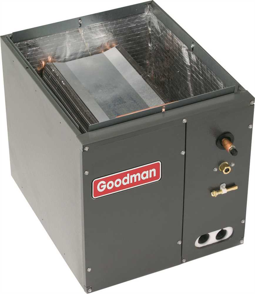 GOODMAN EVAPORATOR COIL FULL-CASED 1.5 - 2.0 TON UPFLOW OR DOWNFLOW