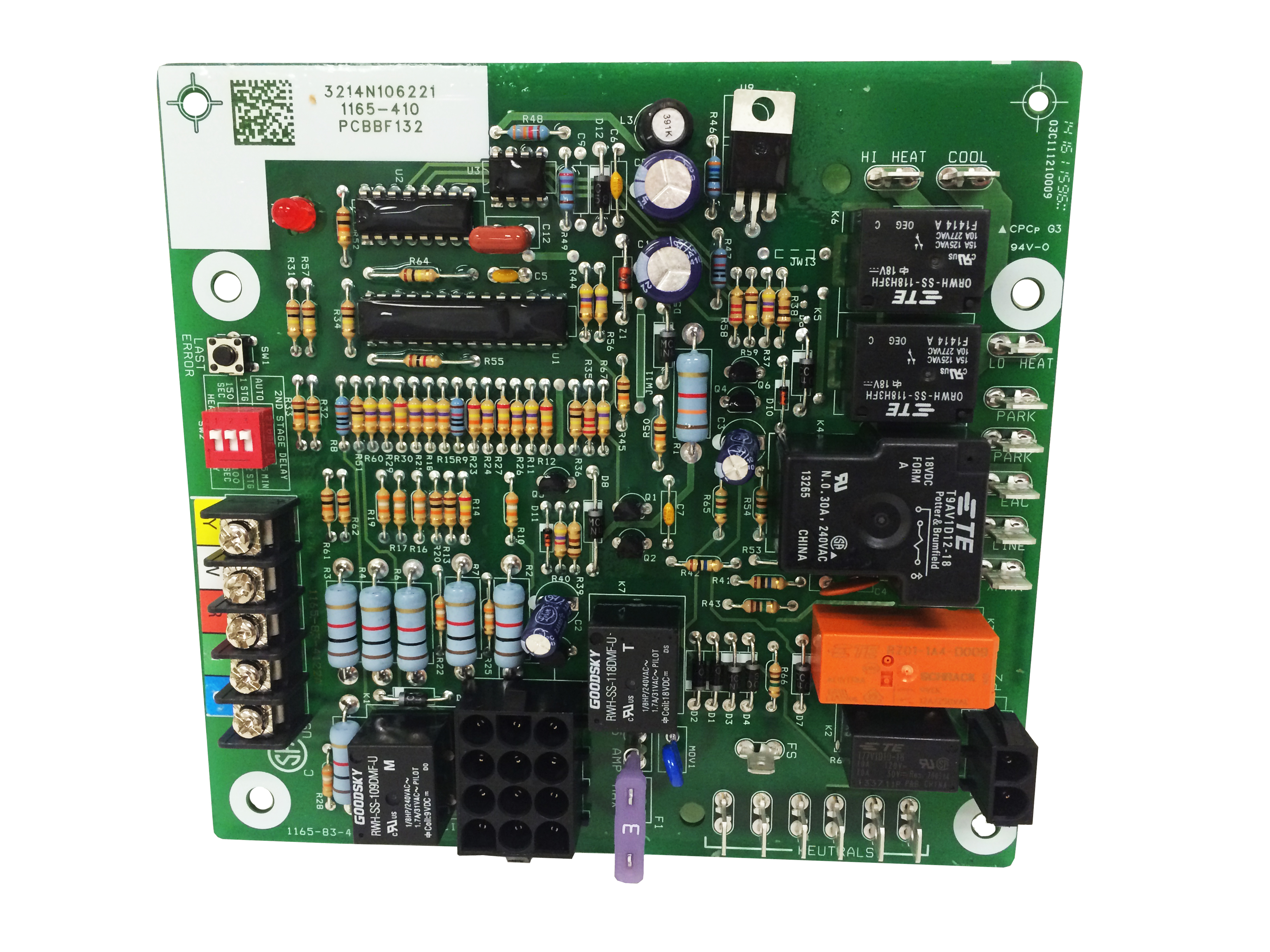 Goodman Ignition Control Board Hsi Int 2 Stage (Pcbbf132S)
