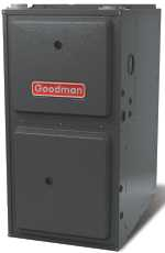 GOODMAN� SINGLE-SPEED 1-STAGE UPFLOW / HORIZONTAL LOW NOX GAS FURNACE, 21 IN., 92% AFUE, 100,000 BTU, 1,600 CFM