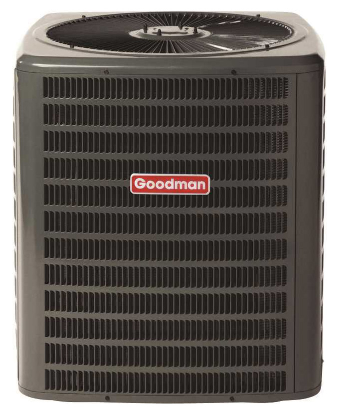 GOODMAN 14 SEER R410A AC CONDENSING UNIT, 3.5 TON - SOUTHEAST - IF IN SOUTHWEST OR NORTH DOE REGIONS, SEE BELOW FOR MODEL