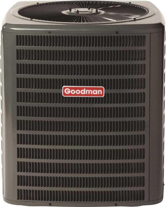 GOODMAN 14 SEER R410A AC CONDENSING UNIT, 4.0 TON, 48,000 BTU, 208/230 VOLTS, 26.4 AMPS