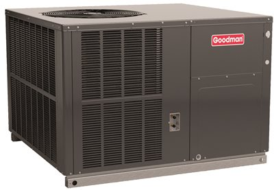 GOODMAN 14 SEER PACKAGED GAS/ELECTRIC UNIT, R-410A, 4.0 TON, 100 MBTU/H