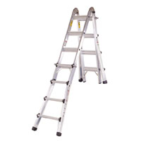 STEPLADDER MULTI-TASK ALU 17FT