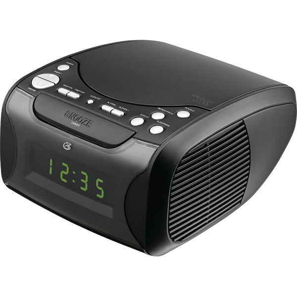 GPX CC314B Dual Alarm CD Clock Radio