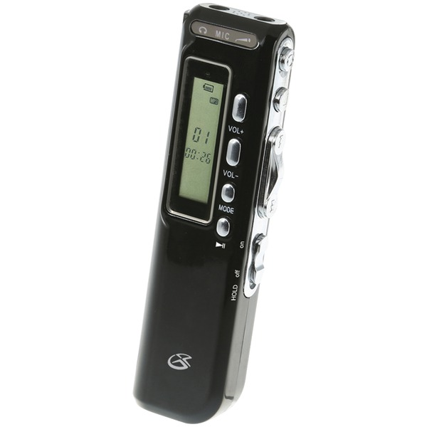 GPX PR047B MP3 Digital Voice Recorder