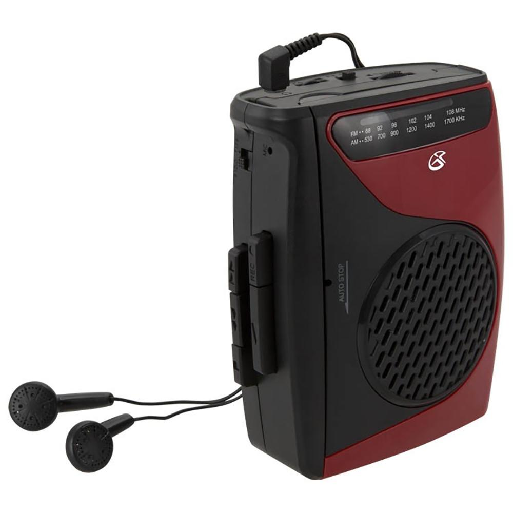 GPX Cassette Player and Recorder with AM/FM Radio