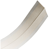 No-Coat Ultraflex Flexible Drywall Corner Tape, 3-1/4 in W x 100 ft L x 0.44 in at Center, 0.018 in at Edge T