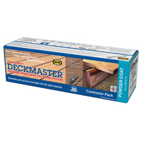 Deckmaster DMP125-100 Hidden Deck Bracket Kit, For Use with Deck Boards, 22-1/2 in L