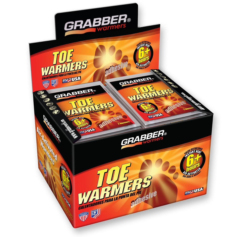 Grabber TWES Adhesive Toe Warmer, 6 hr, 100 Deg F