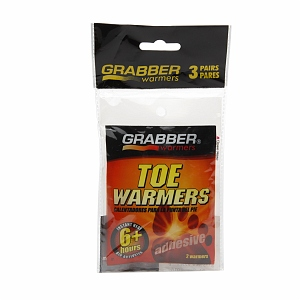 Grabber Toe Warmers Pkg, 20 Piece (3pkg) Cas