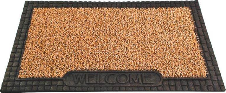 GrassWorx 10371221 Door Mat, 30 in L X 18 in W, Cocoa