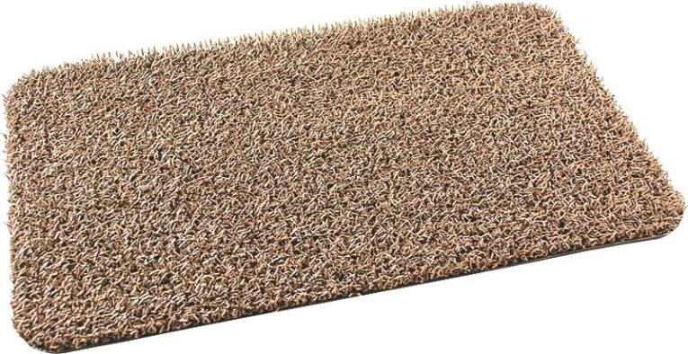GrassWorx 10253909 Door Mat, 30 in L X 18 in W, Taupe