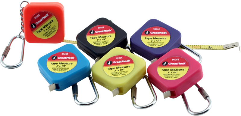 9006E KEYCHAIN TAPE MEASURE