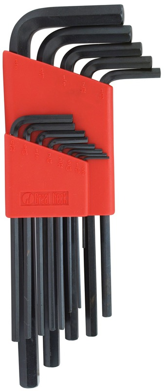 HK13L 13PC LONG HEX KEY SET