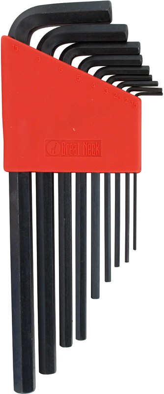 HK9ML MET LONG HEX KEY SET