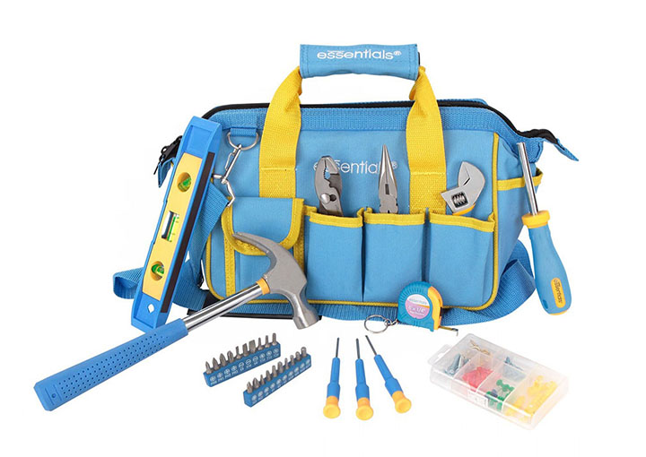 Great Neck 21046 Essentials 32 Piece Around the House Tool Set