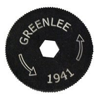 Greenlee 1941-1 Cutter Blade, For Use with 6A646 BX Flexible Metal Conduit Cutter, Hardened Steel