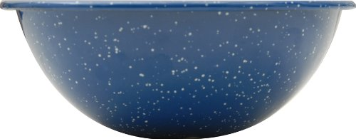 GSI Blue Enamel Mixing Bowl, 6in