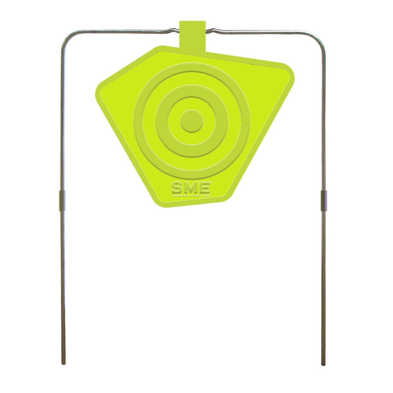 SME 8inch Self Healing Gong Target .22 - 50 Cal