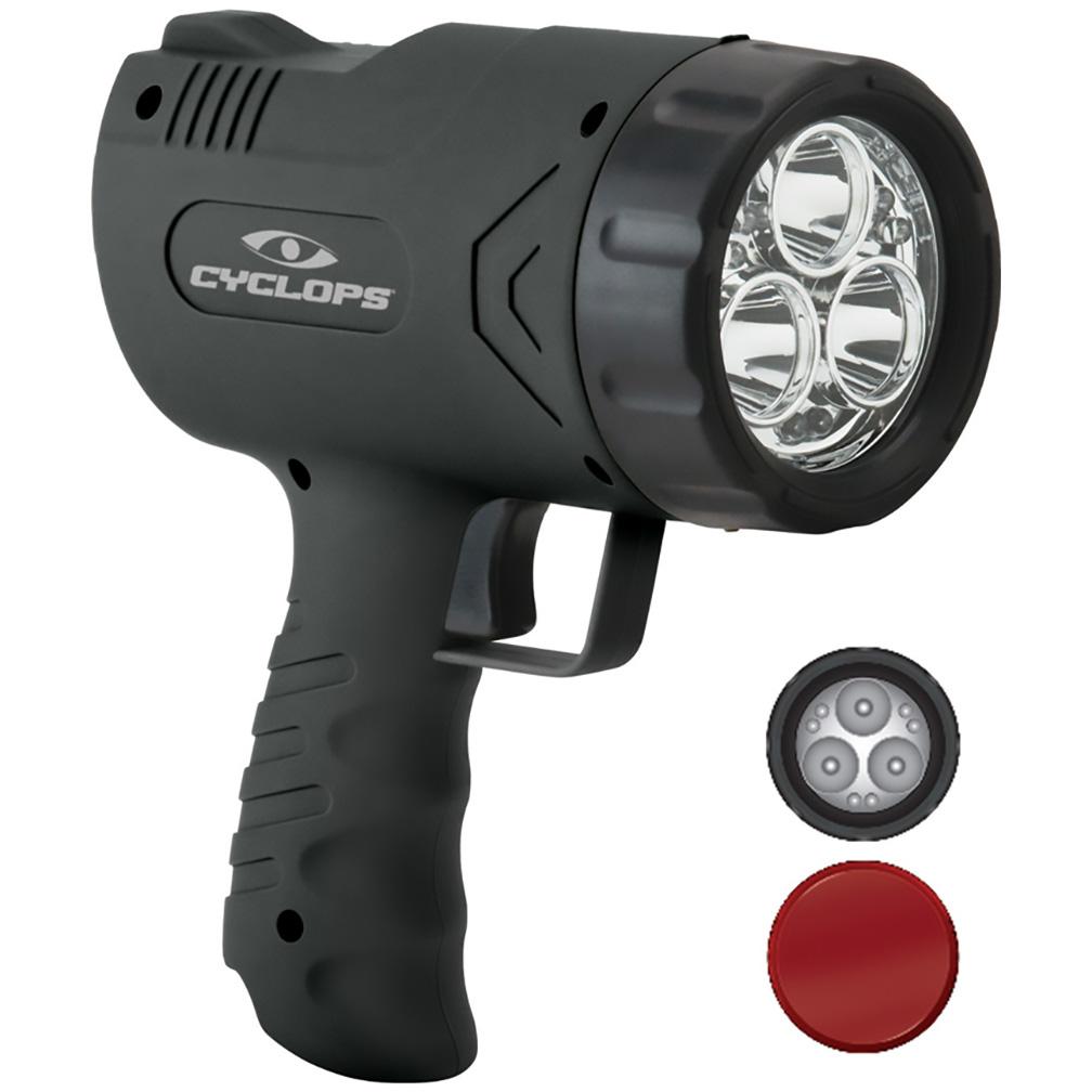 Cyclops SIRIUS 630 Lumen Handheld Spotlight w/6 LED Lights - Rechargeable Lithium Polymar Battery