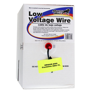 Low Voltage Wire 250' Roll