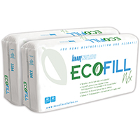 EcoFill Wx 3384 Fiberglass Insulation, 20 in W x 40 in L