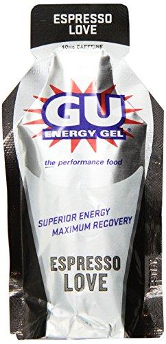 GU Energy Gel, 24 Pack, Espresso Love