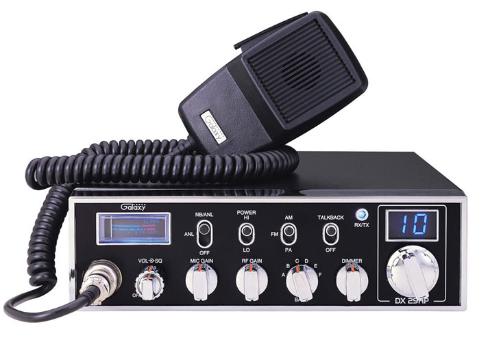 45 WATTS 10 METER RADIO RF/MIC GAIN W/DIMMER SWITC