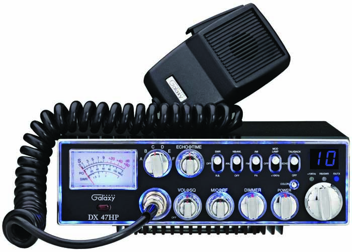100 WATTS 10 METER RADIO W/ 7 DIFFERENT COLORS