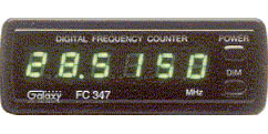 FREQUENCY COUNTER W/ BLUE LED