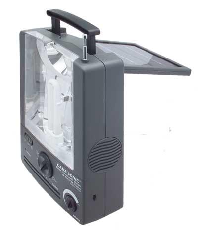 SOLAR LAMP RADIO