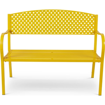Bench Metal Yellow