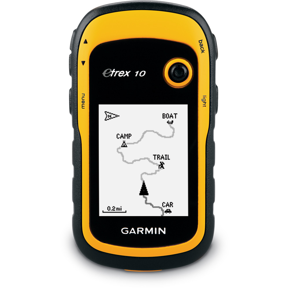 eTrex 10 GPS handheld Yellow Black