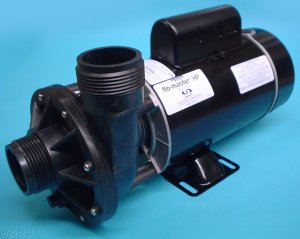 "Pump, Aqua-Flo FMHP, 1.5HP, 115V, 13.8/3.8A, 2-Speed, 1-1/2""MBT, SD, 48-Frame"