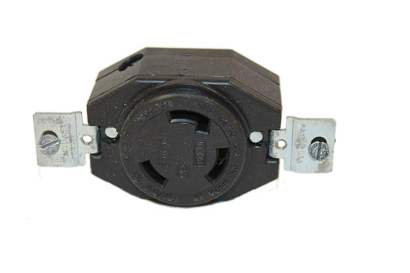 38253 250V. 30A. 3 Prong Locking Type Outlet Generac Portables Generator Parts